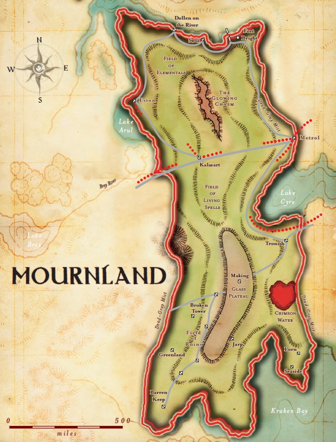 Mournland Eberron Unlimited As long because the object was within 1,000 feet of you, you see the direction to the situation of the thing. eberron unlimited wikidot